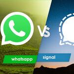 WhatsApp vs Signal, comparativa: todo lo que hay que saber si piensas cambiarte de app