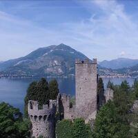 Sobrevolamos el Castello de Vezio. Vídeos inspiradores