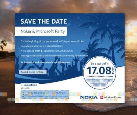 Evento Nokia - Microsoft. ¿Conoceremos el primer Nokia Windows Phone 7 dentro de dos semanas?