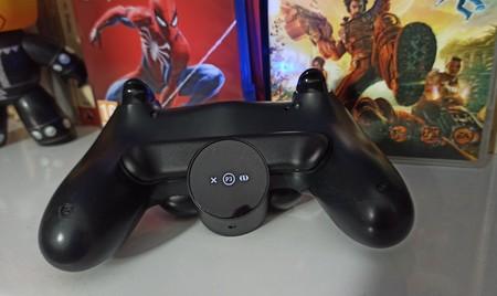 Botones traseros para DualShock 4, análisis: una forma sencilla pero con limitaciones de ampliar las posibilidades del mando de PS4