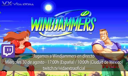 Streaming de Windjammers a las 17:00h (las 10:00h en Ciudad de México) [finalizado]