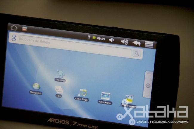 Foto de Archos 7 Home Tablet análisis (1/7)