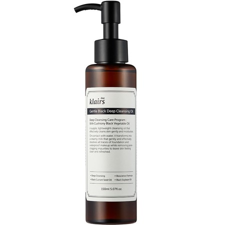 Dear Klairs Gentle Black Deep Cleansing Oil Klairs
