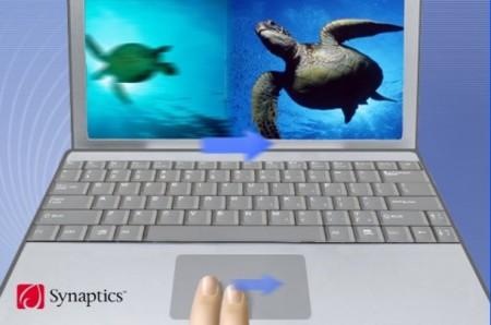 Synaptics Chiral Rotate y Two-Finger Flick, más gestos en el trackpad