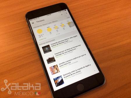 """Google lanza aplicación """"Noticias y tiempo"""" para dispositivos iOS"""