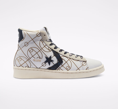 Laser Graphics Pro Leather High Top