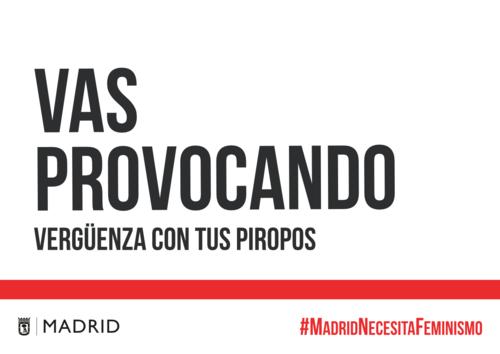 La impactante campaña del Ayuntamiento de Madrid contra la violencia machista pone el foco sobre la cultura de la violación