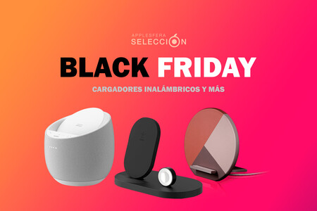 Las mejores ofertas del Black Friday en cargadores inalámbricos y tradicionales compatibles con iPhone y Apple Watch