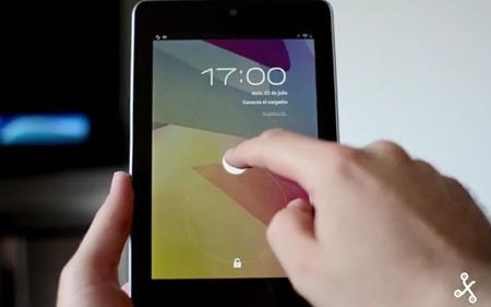 Google Nexus 7, toma de contacto en vídeo