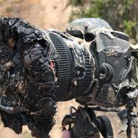 Esta cámara quedó frita tras el lanzamiento de un Falcon 9 de Space X, pero sus fotos sobrevivieron