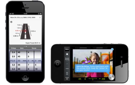 Dos aplicaciones de iOS para aprender conceptos de fotografía