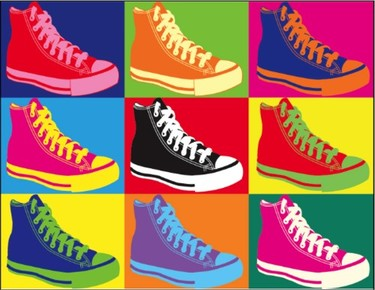 Decorando con Converse