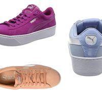 Las zapatillas Puma Vikky Platform están a la venta desde 25,55 euros en Amazon en varios colores