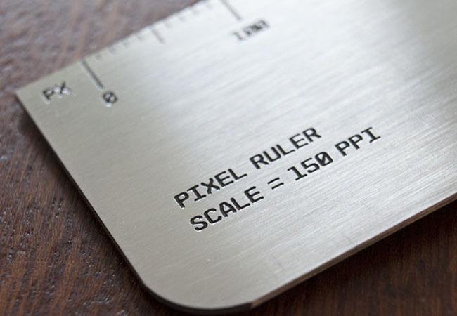 Pixel ruler - 150DPI