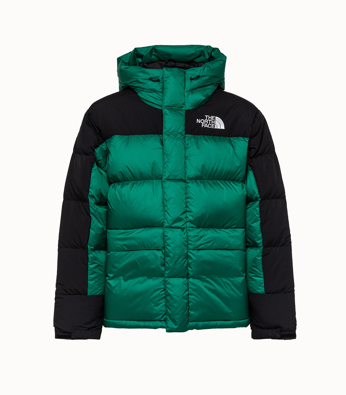 Parka verde de plumón Himalayan de The North Face.
