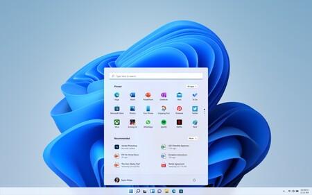Windows 11 Oficial Nuevo Menu Inicio Barra Tareas