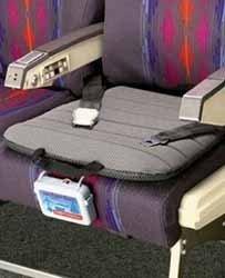 Cojín inteligente para el asiento del avión