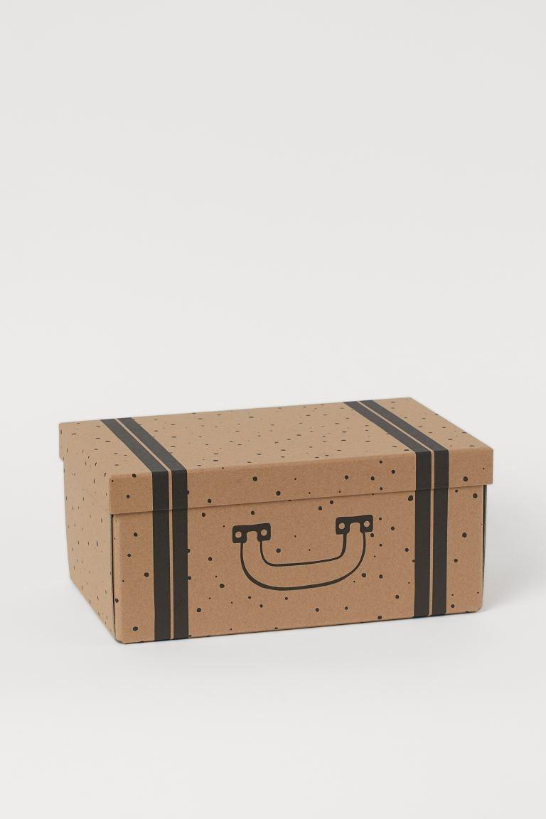 Caja de almacenaje pequeña