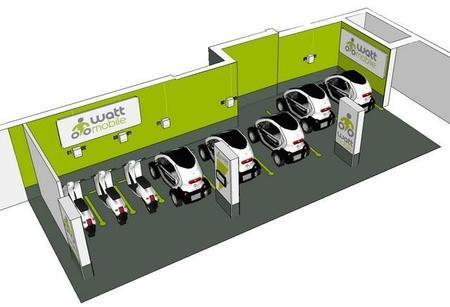 Wattmobile, un nuevo carsharing francés que intentará atraer a los profesionales