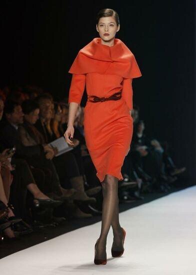 Carolina Herrera en la Semana de la Moda de Nueva York Otoño-Invierno 2011/2012