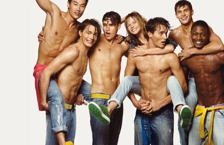 Benetton, colección Primavera-Verano 2009, jeans