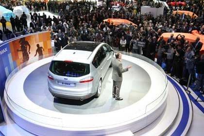 Presentación Ford S-Max en el salón de Ginebra