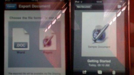 Aparecen rastros de un iWork para iPhone