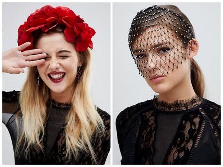 19 accesorios de Asos para lucir con un vestido negro en Halloween (y dejarte de líos)