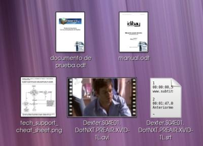 Nautilus: habilitar iconos de documentos OpenOffice con previsualización real