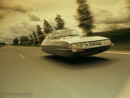 Flying Citroen Sm By Jacobmunkhammar D5vni8x