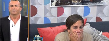 A Anabel Pantoja le entra la llorera porque piensa que su novio está haciendo cositas malas fuera