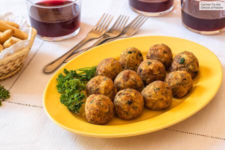 Albóndigas (hipertiernas) de calabacín: la receta que te hará amar las verduras
