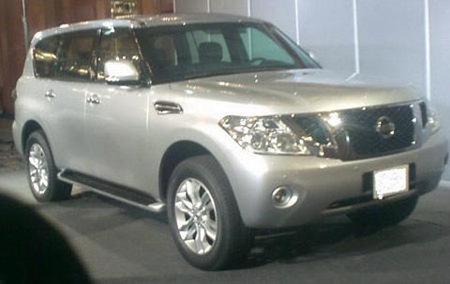 ¿Es esto el nuevo Nissan Patrol?