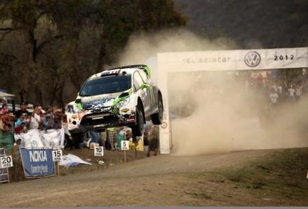Ken Block y el equipo Monster estudian volver al WRC en 2013