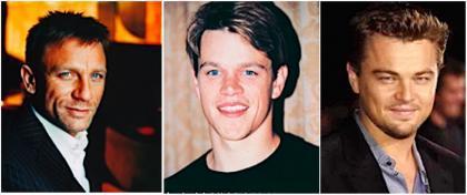 Los rostros perfectos de Hollywood