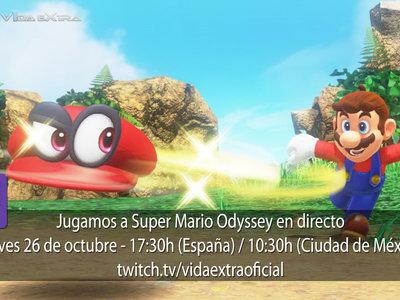 Streaming de Super Mario Odyssey a las 17:30h (las 10:30h en Ciudad de México) [finalizado]