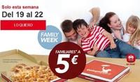 Telepizza vuelve con su 'Family Week'