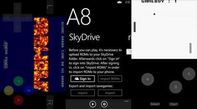 SNES8X, VBA8 y VGBC8, tres emuladores para Windows Phone 8. La aplicación(es) de la semana