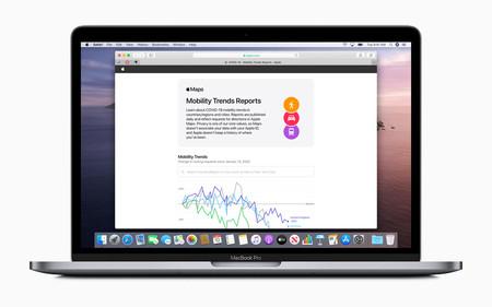 Apple comparte datos de movilidad de su app Mapas para ayudar en la lucha contra el COVID-19