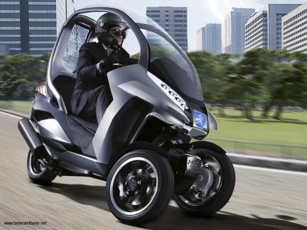 Peugeot HYmotion3 Compressor hibrido presentado en el Salón de París