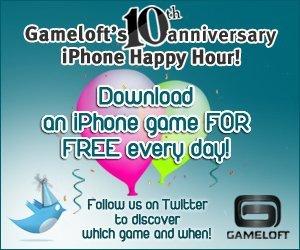 Gameloft celebra su décimo aniversario regalando videojuegos