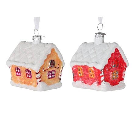 Set de 2 adornos colgantes House
