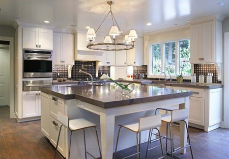 Kitchen designs with islands for small kitchens - Lu Amp Jo Cocinas