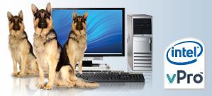 Chips Intel que se comunican con el servicio técnico