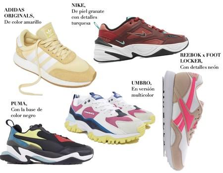 Zapatillas Deportivas Color