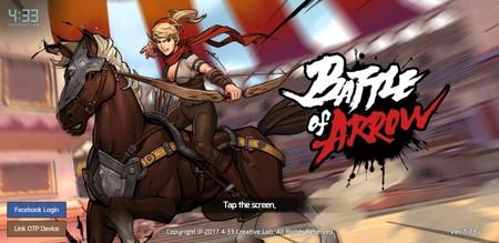 Battle of Arrow: demuestra que eres el mejor lanzando flechas con el acelerómetro