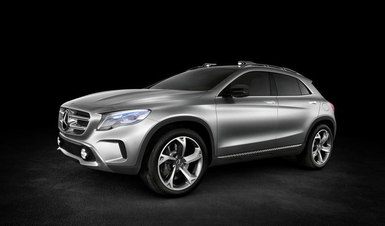 Foto de Mercedes-Benz GLA Concept (5/12)