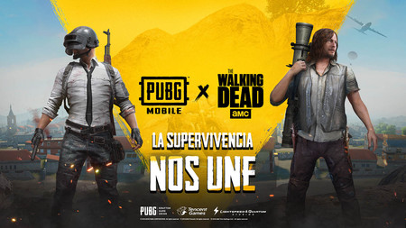 Los personajes de The Walking Dead llegan a PUBG Mobile con este crossover