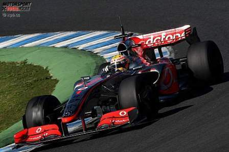 El motivo de McLaren para utilizar el alerón de 2008