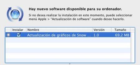 Atención, jugones: actualización de gráficos para Snow Leopard disponible